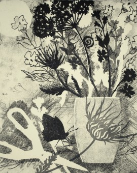 Rosemary Farrer, 'Swallowtail and Wild Carrot', WychwoodArt.jpeg