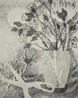 Rosemary Farrer, 'Wild Carrot and Rosehips', WychwoodArt.jpeg