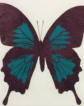 Teal Butterfly - WychwoodArt
