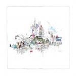 Tokyo Lights - Laura Jordan - Wychwood Art