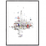 crazy town –  Laura Jordan – Wychwood Art