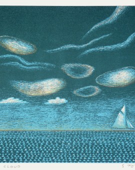 Cloud Simon Tozer Wychwood Art