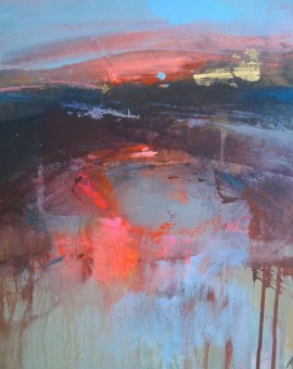 Magdalena Morey | Interlude 2 | Abstract Landscape Painting | WychwoodArt