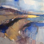 Magdalena Morey | Interlude 3 | Abstract Landscape Painting | WychwoodArt