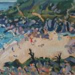 Porthcurno Beach