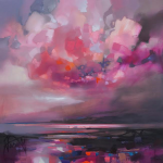 Dispersing Magenta Wychwood Art Scott Naismith