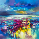 80 x 80cm Light on Ardnamurchan Scott Naismith Wychwood Art