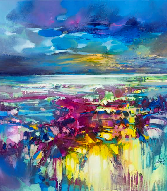 Scott Naismith Art Abstract Art Colourful Art Vibrant Art
