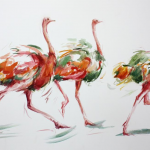 Dancing trio_Annabel Pope_Wychwood Art