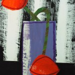 JennyBalmer_Purple vase with poppies_Wychwood Art