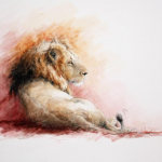 Lion_Annabel Pope_Wychwood Art