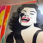 Screaming Marilyn - Pure Evil - Wychwood Art