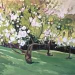 Elaine Kazimierczuk Apple Blossom by the Dell Wychwood Art