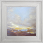 Framed – small oil painting – Wychwood Art