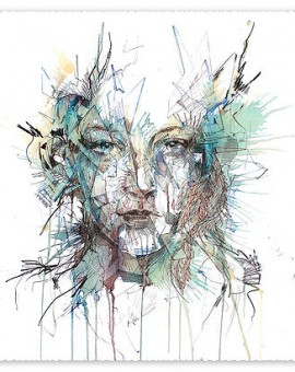 Order-mini-print-carne-griffiths-figurative-art-wychwood-art-gallery