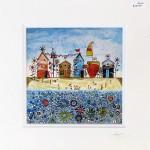 Anya-Simmons-Beach-Huts-and-Flowers-Wychwood-Art
