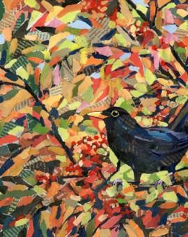 AutumnBlackbird_PaulBartlett_WychwoodArt