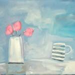 Diane Whalley Putting One's Feet Up Wychwood Art
