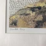 Paul Bartlett, Scratch, Puffin Art, Limited Edition Print - mixed media art, contemporary art, conservation art - title