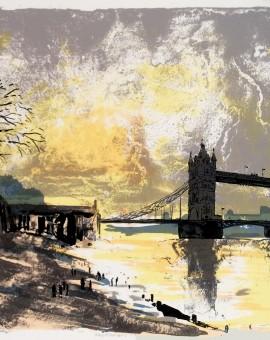 Tim Southall. Mudlarkers II. Wychwood Art