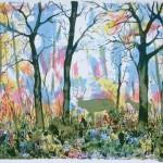 Tim Southall. Woodland Scene. Wychwood Art
