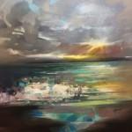 Scott naismith – Wy chwood Art – Scottish Landscape – semi abstract