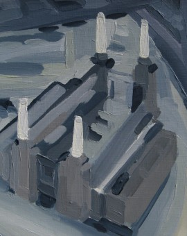 025 Aerial View of Battersea Power Station 2014