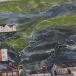 Anya Simmons, Clovelly North Devon, Limited Edition Giclee Print