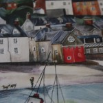 Anya Simmons, Clovelly North Devon, Limited Edition Giclee Print 2