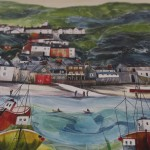 Anya Simmons, Clovelly North Devon, Limited Edition Giclee Print 7