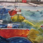 Anya Simmons, Clovelly North Devon, Limited Edition Giclee Print 8