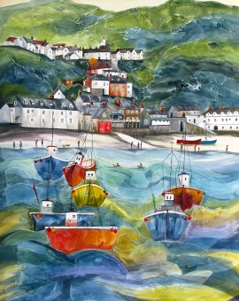Anya Simmons-Clovelly-North-Devon-Wychwood Art