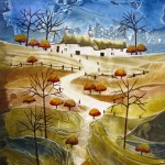 Anya Simmons-Highland-Croft-Cottage-Wychwood Art