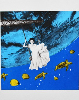 Anne Storno_Aquarium_Edition of 14_Screenprinting_50 X50 cm_small size image