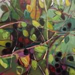 Elaine Kazimierczuk Autumn  Polyptych, panel 2, Bramble Wychwood Art