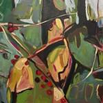 Elaine Kazimierczuk Autumn  Polyptych, panel 3, Bryony Wychwood Art