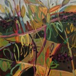 Elaine Kazimierczuk Autumn  Polyptych, panel 4, Elderberry Wychwood Art