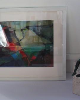 Jon Rowlands, Abstract Art, Contemporary Painting, Bright Art 5