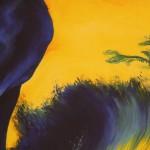 Louise Mcnaught, Stag, Bright Art, Animal Art 4