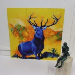 Louise Mcnaught, Stag, Bright Art, Animal Art 5
