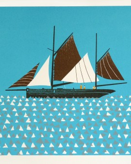 Simon Tozer Excelsior sailing boat