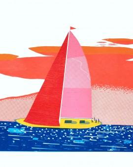 Simon Tozer Nellie Yacht Wychwood Art