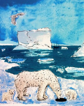 Tim Southall, 'A Hole in the Ice' Wychwoord Art