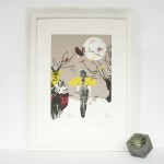 Framed-Guiding-the-way-wychwood-art-katie-edwards-illustrations