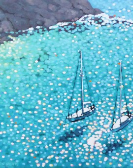 Gordon-Hunt_The-turquoise-bay_wychwoodart