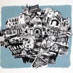 Kitty Kovacevic, The Cotswolds-Sky Blue, Wychwood Art