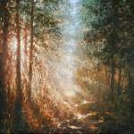 Mariusz Kaldowski 'Secret Path' Wychwood Art