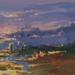Mariusz Kaldowski, Western Vista, Original Landscape 6