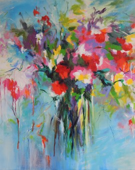 Mary Chaplin bouquet of joy Wychwood Art