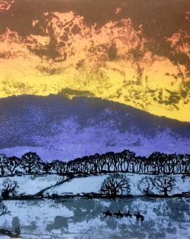 Tim Southall, Night Turns To Day, Wychwood Art